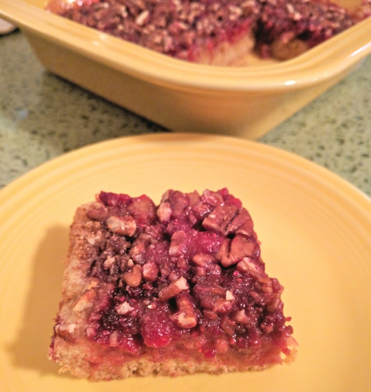 Raspberry Pecan Coffee Cake