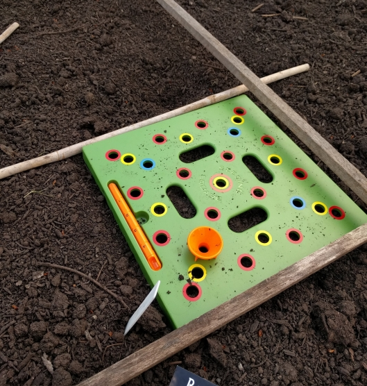 Square Foot Seeding Tool